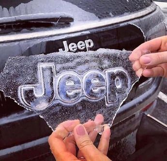 This ice pulled of a jeep