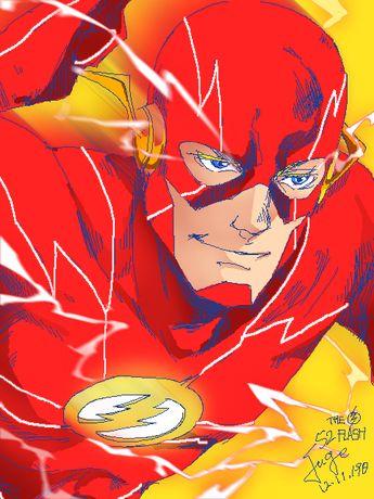 the Flash by onlyfuge on DeviantArt