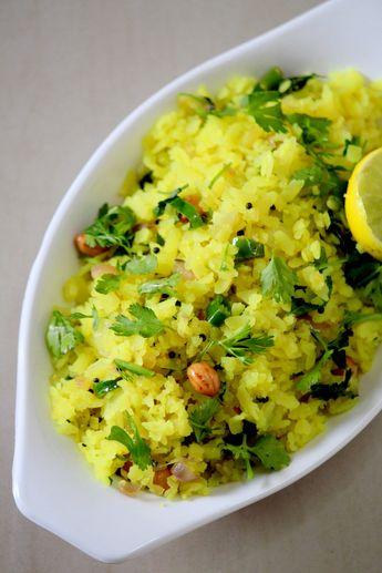 Kanda Poha Recipe Maharashtrian Style