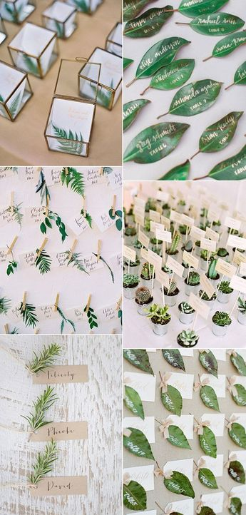 2017 Wedding Trends-30 Botanical Ideas to Decorate Your Big Day