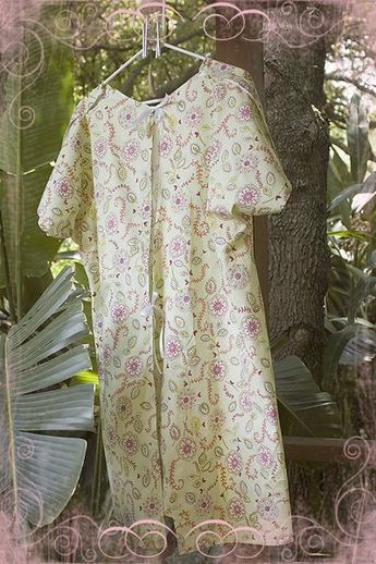 Diy Maternity Hospital Gown Free Pattern