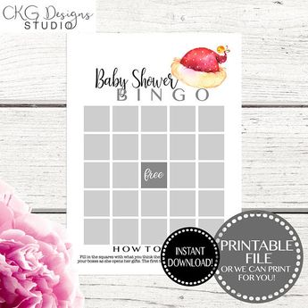 Christmas Baby Shower Games Printable Celebrity Baby Name