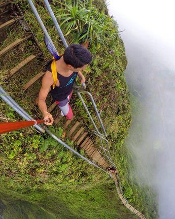 селфи,лестница,путешествия