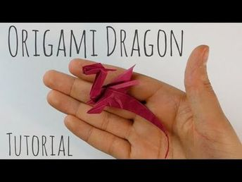 Easy Origami Dragon by Armin Täubner / Tutorial - Henri Louis - YouTube