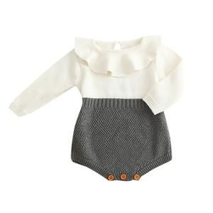 a96df024f Knitted Ruffle Romper Clothes for Baby and Toddler Girls – Bitsy Bug  Boutique