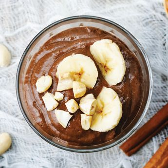 CHOCOLATE AVOCADO PUDDING  INGREDIENTS ~ 4 avocados ~ ¼ cup light coconut milk ~ 4 tbsp. Cacao Bliss (link in bio) or unsweetened cacao ~ 3 tbsp. raw honey ~ 2 ounces dark chocolate, melted ~ 2 tsp. vanilla extract DIRECTIONS      Pit and peel avocados and blend in food processor until creamy.       Add all other ingredients and blend for two minutes until smooth. This will keep in the refrigerator for one day if you store it in an airtight container.  Makes four servings. Enjoy! #cacaobliss