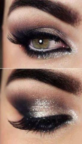NEW YEAR NEW ME- SILVER #eyemakeup