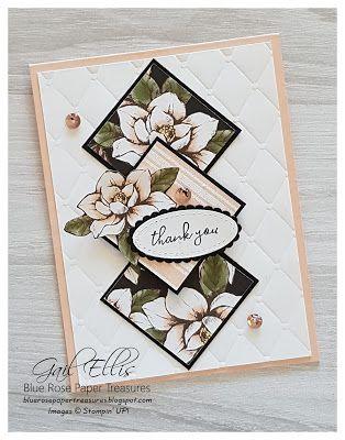 Blue Rose Paper Treasures: Magnolia Lane One Sheet Wonder PDF Tutorial