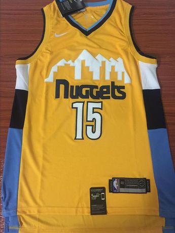 Men 15 Nikola Jokic Jersey Yellow Denver Nuggets Swingman Jersey Fanatics 8c94eaf63