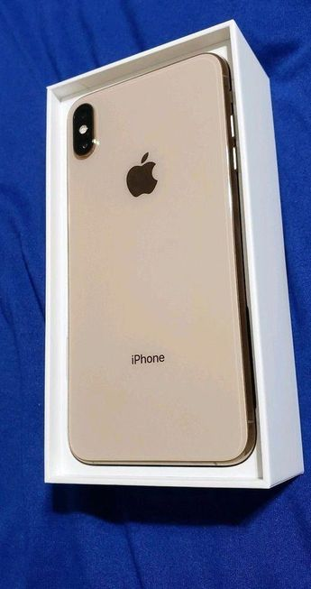 Apple iPhone XS Max - 256GB - Gold (factory unlocked) A1921 (CDMA GSM) - Iphone XS #iphonexs #iPhone7