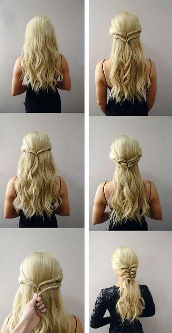 Braided Hairstyles Tutorial - Step By Step Guidelines