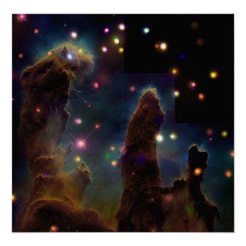 Eagle Nebula M16 Poster | Zazzle.com