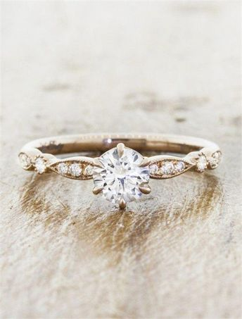 18 Simple But Gorgeous Engagement Ring Ideas