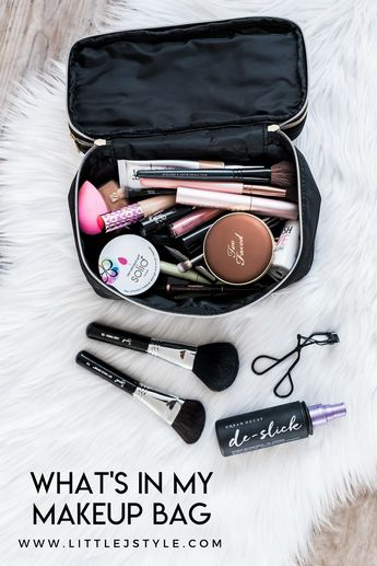 What's In My Makeup Bag: Summer 2018 | Little J Style
