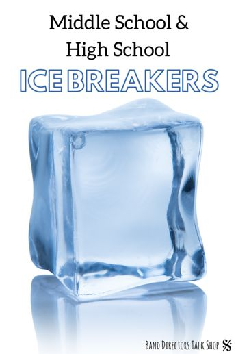 Ice Breakers for Middle School (& High School