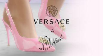 5d879afd2f5e Lana CC Finds - Versace Palazzo Medusa Slingback Pumps by MrAntonieddu