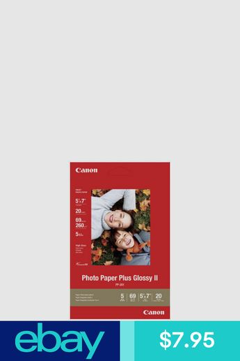 Canon Photo Paper Plus Glossy Ii Pp 201 6x4 10x15cm 265 Gs