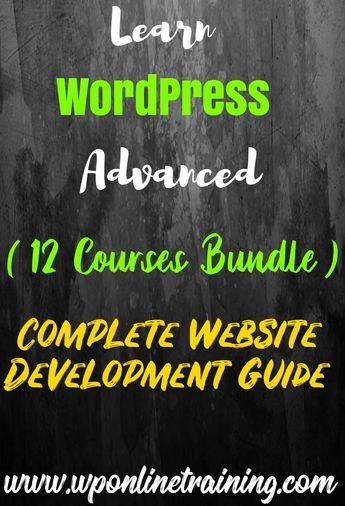 Learn WordPress Advanced Courses Bundle