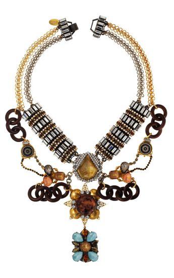Time Warp necklace by Erickson Beamon
