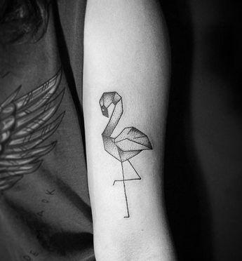 ⭐️ Tatuagens de Flamingo ⭐️