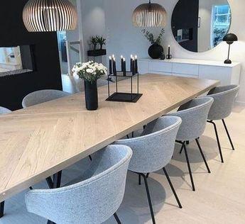 49 Inspiring Dining Room Tables Modern Design Ideas
