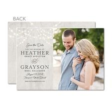 Glowing Ceremony Save The Dates