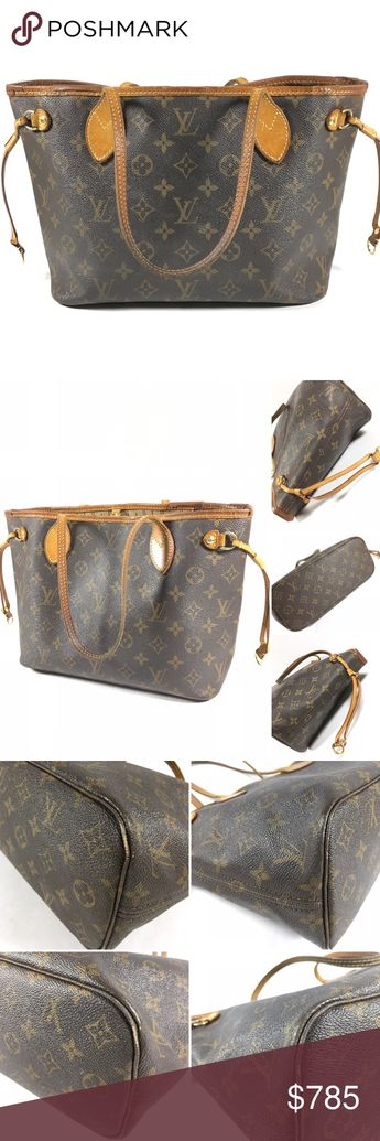 77bbed644e95 Authentic Louis Vuitton Neverfull PM Tote Bag No lowballing no trade Made  in France S