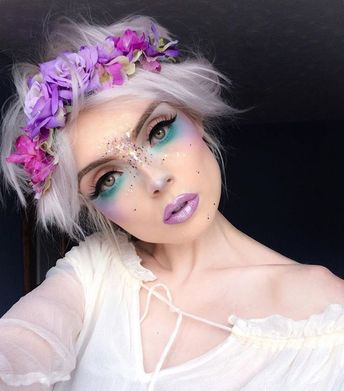 """53.4k Likes, 554 Comments - Molly Bee (Molly Bridges) on Instagram: """"Ice Queen... #maquillaje #makeup"""