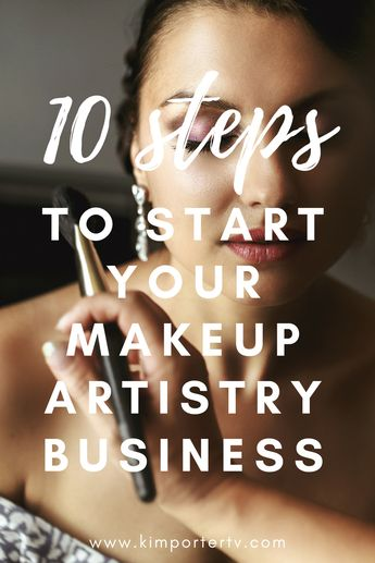 Have you always dreamed of becoming a freelance makeup artist? In this blog article get the 10 steps to start your makeup artistry business by business coach and professional makeup artist, Kim Porter.