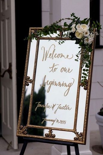 30 Stunning Wedding Welcome Sign Ideas to Steal - Page 2 of 2