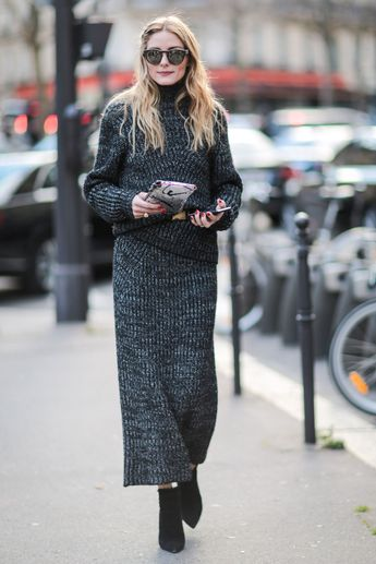 How the street stylers are dressing for the chilly Parisian weather