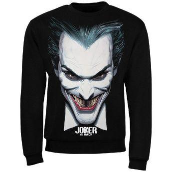 Sweat Joker Is Back couleur noir - S - Boutique officielle DC Comics