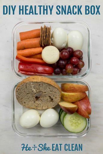 DIY Healthy Snack Boxes