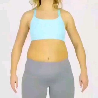 Belly exercise- for those days when the pain is bad but you don't want to lose a day of doing some toning etc