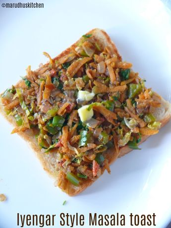 Bread masala sandwich recipe / iyengar bakery style vegetable toast
