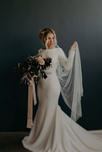 15 Wonderfully Alternative Veils - Chic Vintage Brides : Chic Vintage Brides