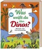 Dinosaurier-Buch für Vorschulkinder Hier kommt das erste große Dino-Buch für Kinder ab vier Jahren. In diesem tollen Dinosaurierlexikon stellt DK Vorschulkindernüber 50Urzeitechsenthematisch aufbereitetvor. Kurze Texte, lebendige Grafiken undspielerische Elementewie Sprechblasen vermitteln Wissenswertes über Gemeinsamkeiten, Unterschiede und Besonderheiten –klar und leicht verständlich.