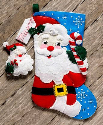 Bucilla Christmas Eve 18 Felt Stocking Kit 83114