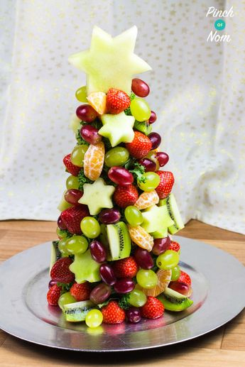 Syn Free Fruit Christmas Tree