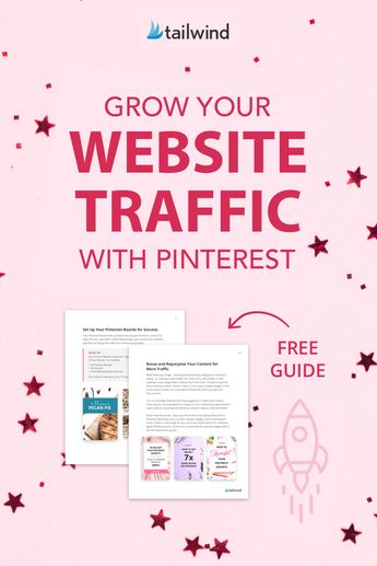 Grow your website traffic with Pinterest. This simple guide is your no-fluff, no-jargon, no-kidding passport to substantial traffic growth from Pinterest - even if you've never Pinned in your life. Sign up and grab yours now - it's free!