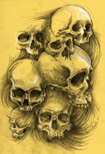 skulls examples by masshi128.deviantart.com on @deviantART