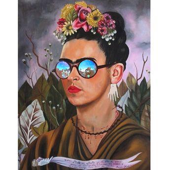 Ilustraciones de Frida Kahlo creadas por artistas de todo el mundo | Cultura Colectiva