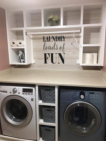 45+ Best Laundry Room Cabinets: Pictures, Ideas & Designs