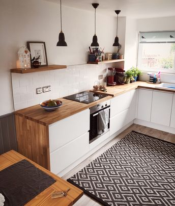 My beautiful scandi inspired kitchen .. making the ordinary look special