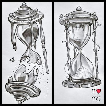 hourglass idea tattoo                                                                                                                                                                                 Mehr