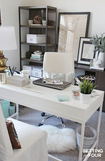 Home Office Makeover - Before and After