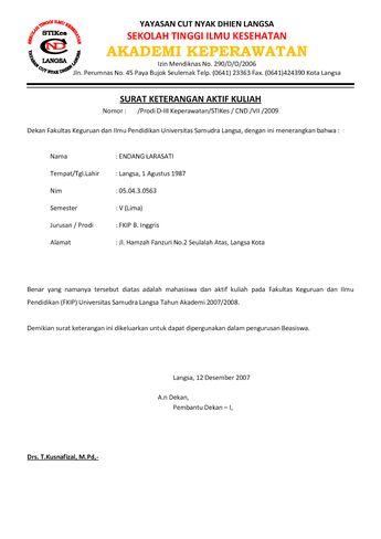 List Of Contoh Surat Keterangan Image Results Pikosy