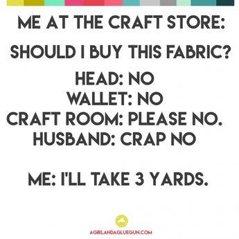 Funny craft memes...round 3