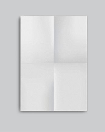 A3 Folded Poster