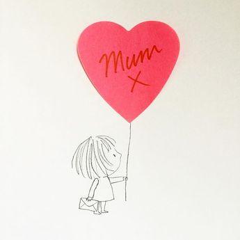 "Jane Massey on Instagram: ""#happymothersday #postit #doodle ✏️"""